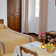 Chambre 2 lits Auberge des Seigneurs