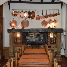 Salle à manger intérieure Auberge des Seigneurs