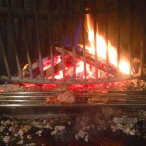 Le feu de bois